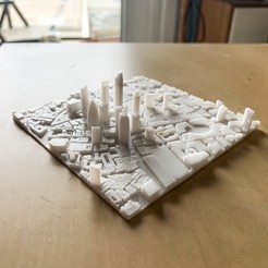 Download free STL file London, the City • 3D printer object, robertbriac