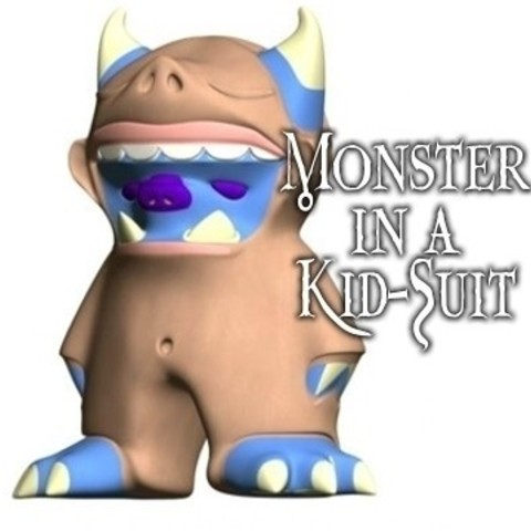 monsterinakidsuit01hci_display_large_display_large.jpg Télécharger fichier STL gratuit Monstre Animalier en Kid-Suit • Design à imprimer en 3D, Yipcott