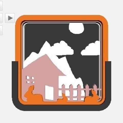 Télécharger fichier impression 3D gratuit Diorama personnalisable, Yipcott