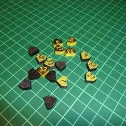 Download 3D printing designs Modular ER25 Collet Size Insert, printing_bjoern