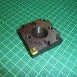 3D print model Modular ER25 Collet Tray, printing_bjoern