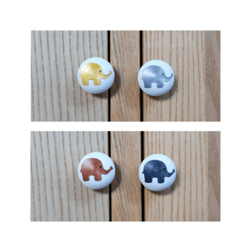 Télécharger fichier imprimante 3D Elephant cabinet knob, ArtisanDeDemain