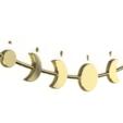 Télécharger fichier 3D moon garland, ArtisanDeDemain