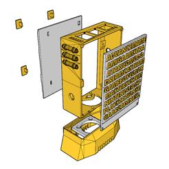 92790293_671429940335962_5053434301153017856_n.png Download STL file Raspberry pie 3 case • 3D printer template, MM3DCreation