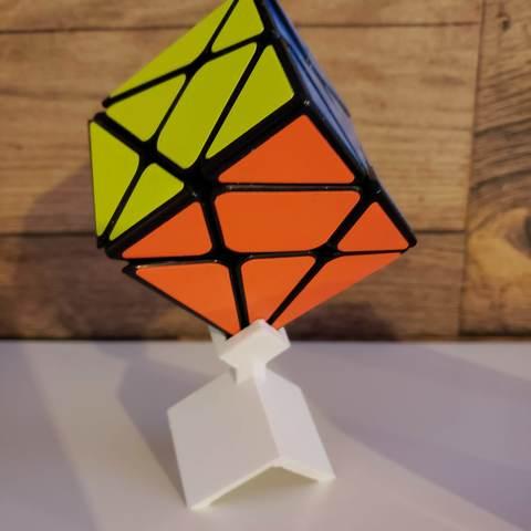 Descargar archivos STL gratis Soporte angular para cubos de Rubik, alexielm