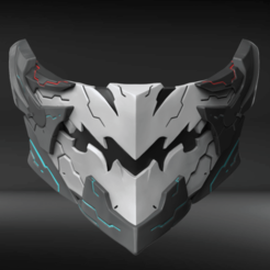 Download STL files Orbital Frame Custom Mask Fan Art, seberdra