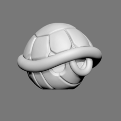 Download 3D model Turtle Shell Fan Art for 3D print model, seberdra