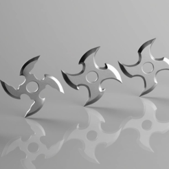 shuriken-4-blade-set-3d-model-stl.png Download STL file Shuriken 4 Blade set 3D print model • Template to 3D print, seberdra