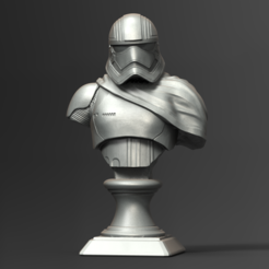 Fichier imprimante 3D Captain Phasma Bust Fan Art 3D print model, seberdra