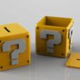 3D print model Mario Coins Bank Set Fan Art 3Dprint model, seberdra