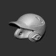 STL file Baseball Helmet for 3D print model, seberdra