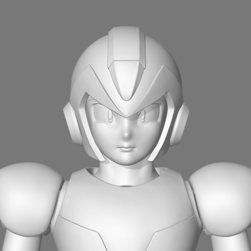 Download 3D printer designs Mega Man X Fan Art 3D print model, seberdra