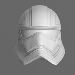 Download 3D printing files Captain Phasma Helmet Fan Art 3D print mode, seberdra