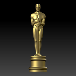 3D printer files Oscar Fan art For 3Dprint 3D print model, seberdra