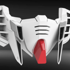 Download 3D printing templates RX93I Custom Mask Fan Art, seberdra