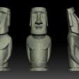 Descargar diseños 3D Estatua de Moai - Modelo de impresión en 3D de Isla de Pascua, seberdra