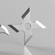 3D print files Shuriken 4 Blade set 3D print model, seberdra