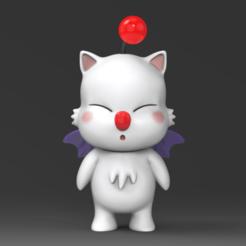 Mogu Kupo.52.png Download STL file Cute Mogu STL for 3DPRINT • 3D printable model, seberdra