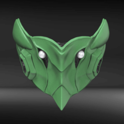 Download STL Bio Armor Zero Mask Fan Art, seberdra