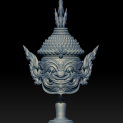 3D printer files Asura mini Statue 3D print model, seberdra