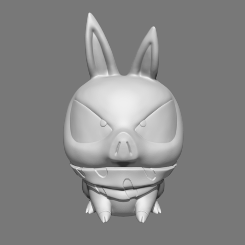 STL file P Chan Fan Art for 3D print , seberdra
