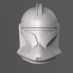 Download 3D printing templates Clone Trooper Phase 1 Helmet Fan Art 3D print model, seberdra