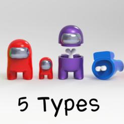AMU.png Télécharger fichier STL Parmi les Fan Art américains STL pour 3Dprint • Plan pour imprimante 3D, seberdra