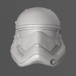 Download 3D model 1stOrder StormTrooper Helmet Fan Art 3D print model, seberdra