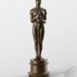 3D printer files Oscar Fan art For 3Dprint 3D print model, seberdra