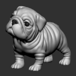 bd02.png Download STL file Question Bulldog • 3D printer model, seberdra
