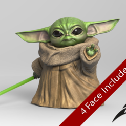 Download STL files May the Baby Force be with you, seberdra