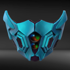 Download STL Bio Armor Mask Fan Art, seberdra