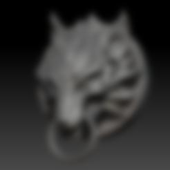 Descargar archivos 3D Fenrir Fan Art STL para 3DPrint, seberdra