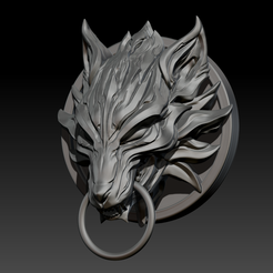 STL files Fenrir Fan Art STL for 3DPrint, seberdra