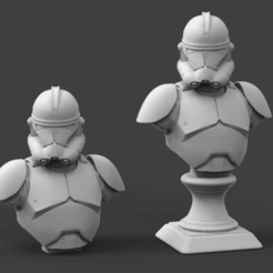 PP2.png Télécharger fichier STL Clone Trooper Phase 2 Bust Fan Art 3D print model • Objet imprimable en 3D, seberdra