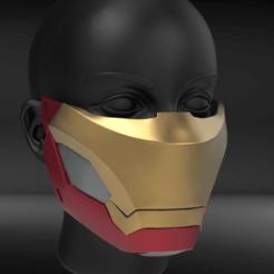 IR01.png Télécharger fichier STL Masque Mark47 • Modèle imprimable en 3D, seberdra