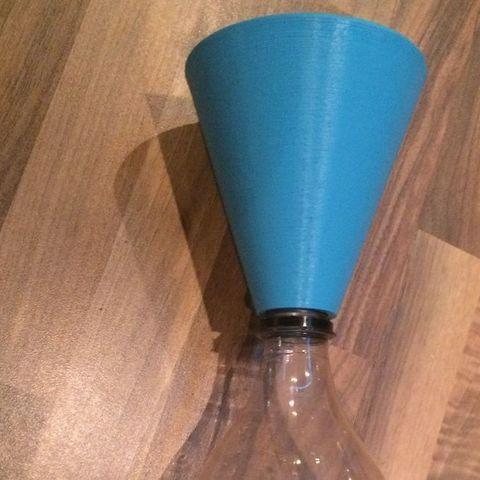 Télécharger fichier 3D gratuit un entonnoir pour une bouteille de cola, Boyvard