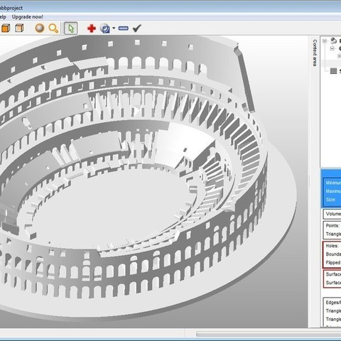 Information_1_display_large.jpg Download free STL file Roman Colosseum Completley Detailed See The World • Object to 3D print, Boyvard