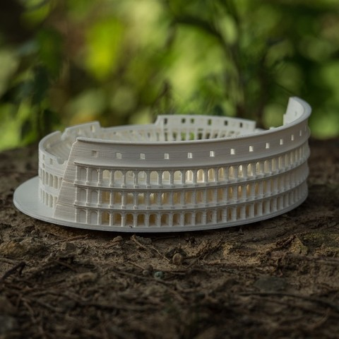 DSCF6708_display_large.jpg Download free STL file Roman Colosseum Completley Detailed See The World • Object to 3D print, Boyvard