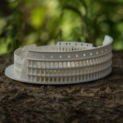 Download free 3D printer designs Roman Colosseum Completley Detailed See The World, Boyvard