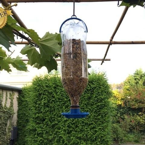 vogelwinnaar_display_large.jpg Download free STL file bird-food-dispenser • Model to 3D print, Boyvard
