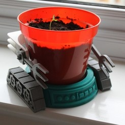 Download free STL Grow-bot, Boyvard