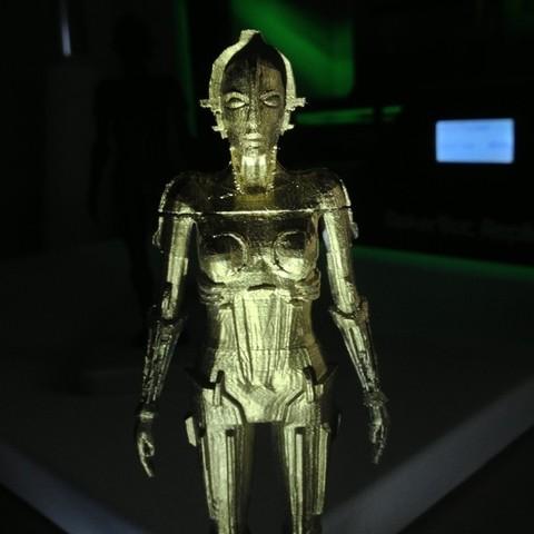 IMG_1852_display_large.jpg Download free STL file Metropolis Robot (Maria) with Rings • 3D printer design, Girthnath