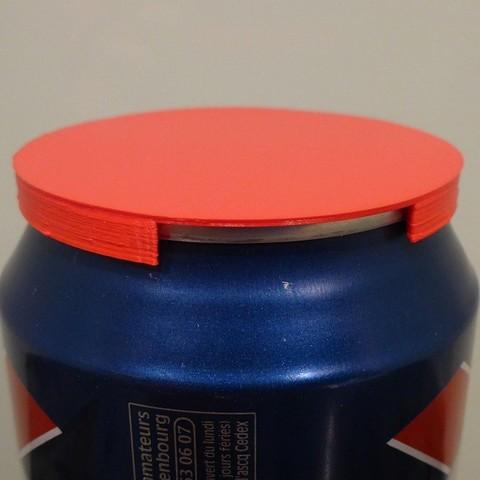 Download free STL file Soda/Beer can lid, Girthnath