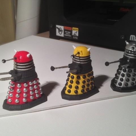 photo3_display_large.jpg Download free STL file Army of Daleks • 3D printing model, Girthnath