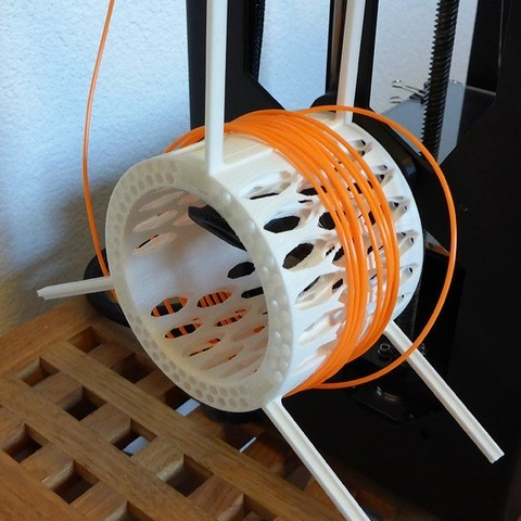 Free STL files Filament spool with large inner diameter, Girthnath