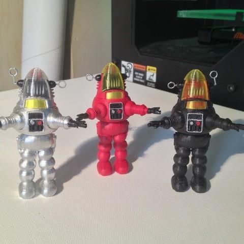 Télécharger fichier imprimante 3D gratuit Robbie Robot, Girthnath