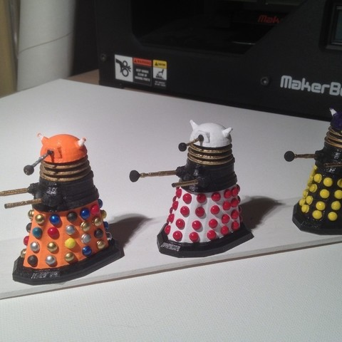photo4_display_large.jpg Download free STL file Army of Daleks • 3D printing model, Girthnath