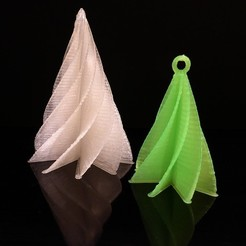 Free 3D print files Christmas tree - Customizer version, Girthnath