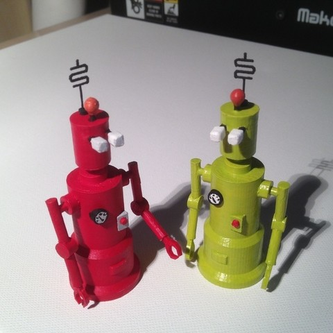 Télécharger fichier impression 3D gratuit Robots ACME, Girthnath
